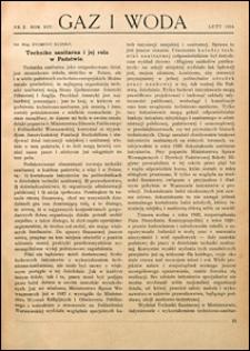 Gaz i Woda 1934 nr 2