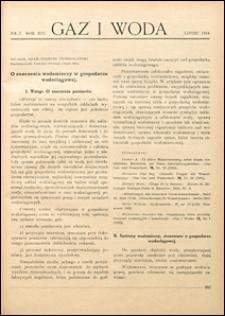 Gaz i Woda 1934 nr 7