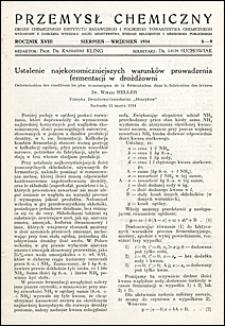 Przemysł Chemiczny 1934 nr 8-9