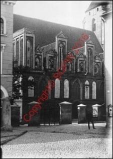 Kościół pw. św. Jana Chrzciciela. Widok od strony elewacji południowej z początku XX wieku. Orneta