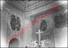 Cerkiew obronna Zwiastowania NMP. Wnętrze zakrystii. Widok z przed 1939 roku. Supraśl