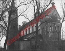 Kolegiata NMP i św. Aleksego. Widok ogólny od strony absydy z przed 1939 roku. Tum