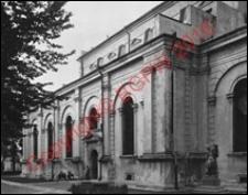 Katedra Zmartwychwstania Pańskiego i św. Tomasza Apostoła. Widok z przed 1939 roku. Zamość