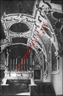 Kościół Zwiastowania Najświętszej Marii Panny przy klasztorze Pokamedulskim. Wnętrze. Widok z przed 1939 roku. Rytwiany