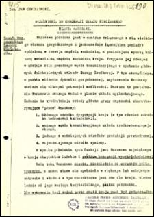 Wyjaśnienia do koncepcji układu nieciągłego miasta Warszawy