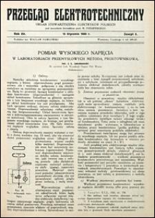 Przegląd Elektrotechniczny 1933 nr 2