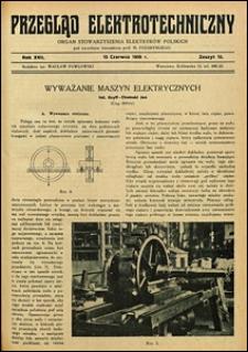 Przegląd Elektrotechniczny 1935 nr 4