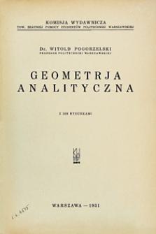 Geometrja analityczna