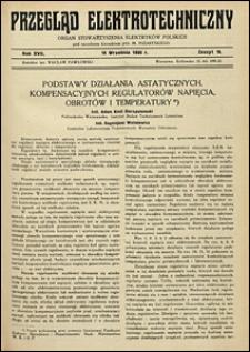 Przegląd Elektrotechniczny 1935 nr 10