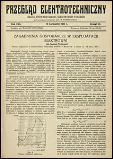 Przegląd Elektrotechniczny 1935 nr 15