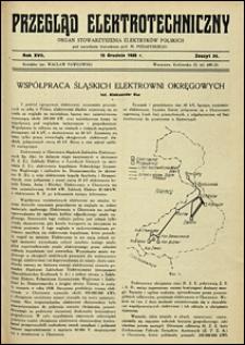 Przegląd Elektrotechniczny 1935 nr 17