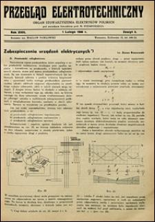 Przegląd Elektrotechniczny 1936 nr 3