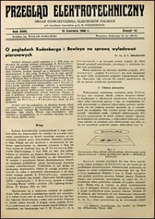 Przegląd Elektrotechniczny 1936 nr 12