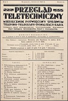 Przegląd Teletechniczny 1928 nr 2
