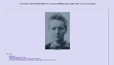 Piśmiennictwo Marii Skłodowskiej-Curie - zestawienie bibliograficzne i pełne teksty wybranych publikacji