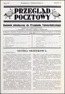 Przegląd Pocztowy 1932 nr 9