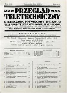 Przegląd Teletechniczny 1935 nr 5