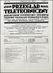 Przegląd Teletechniczny 1935 nr 7