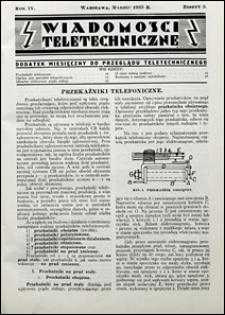 Wiadomości Teletechniczne 1935 nr 3