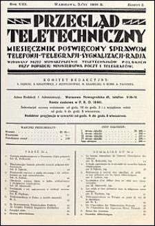 Przegląd Teletechniczny 1936 nr 2