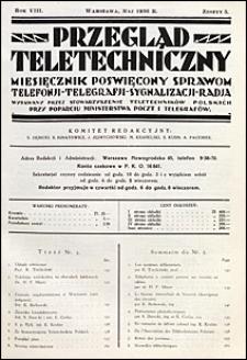 Przegląd Teletechniczny 1936 nr 5