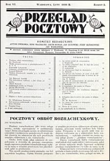 Przegląd Pocztowy 1936 nr 2