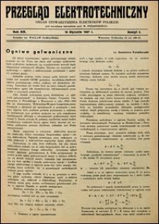 Przegląd Elektrotechniczny 1937 nr 2