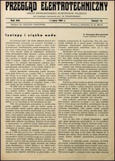 Przegląd Elektrotechniczny 1937 nr 13