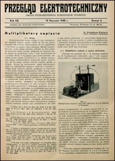 Przegląd Elektrotechniczny 1938 nr 2
