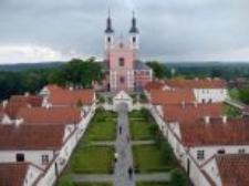 Klasztor Kemedułów nad jeziorem Wigry