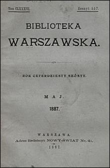 Biblioteka Warszawska 1887 t. 186 z. 557