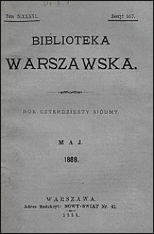 Biblioteka Warszawska 1888 t. 186 z. 557