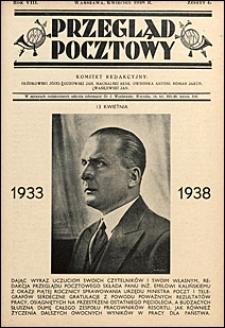 Przegląd Pocztowy 1938 nr 4