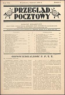 Przegląd Pocztowy 1938 nr 8