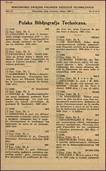 Wiadomości Związku Polskich Zrzeszeń Technicznych 1928 nr 5-7