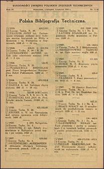 Wiadomości Związku Polskich Zrzeszeń Technicznych 1928 nr 11-12