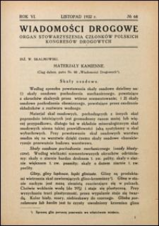 Wiadomości Drogowe 1932 nr 68