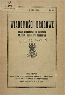 Wiadomości Drogowe 1935 nr 95