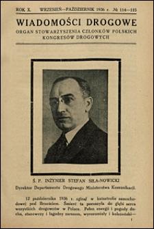 Wiadomości Drogowe 1936 nr 114-115