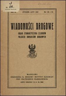 Wiadomości Drogowe 1937 nr 118-119