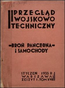 Przegląd Wojskowo-Techniczny 1935 nr 1