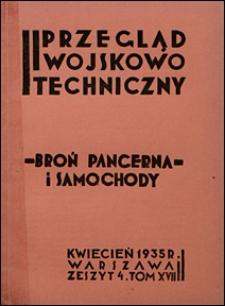 Przegląd Wojskowo-Techniczny 1935 nr 4