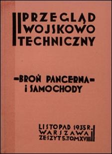 Przegląd Wojskowo-Techniczny 1935 nr 11