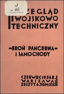 Przegląd Wojskowo-Techniczny 1936 nr 6
