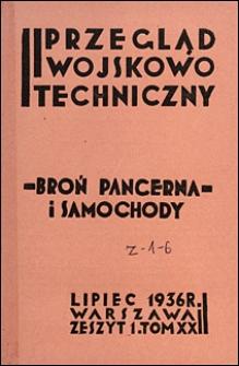 Przegląd Wojskowo-Techniczny 1936 nr 7