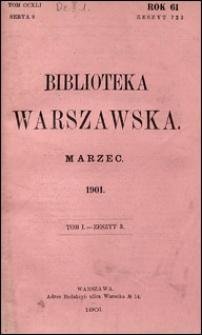 Biblioteka Warszawska 1901 t. 1 z. 3