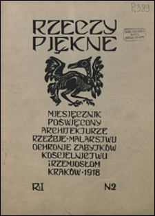 Rzeczy Piękne 1918 nr 2