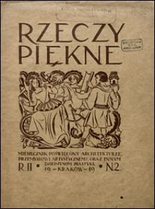 Rzeczy Piękne 1919 nr 2