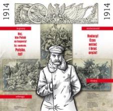 Kierunek Niepodległa. 1914 grafika 3