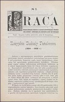 Biblioteka Warszawska 1908 t. 1 nr 2 dodatek